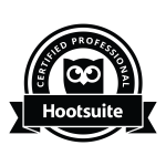 Certified Professional Hootsuite Badge